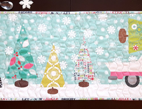 Repost- the Merry and Bright Table runners, two options!
