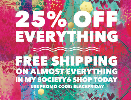 Black Friday sale on now at Society 6!