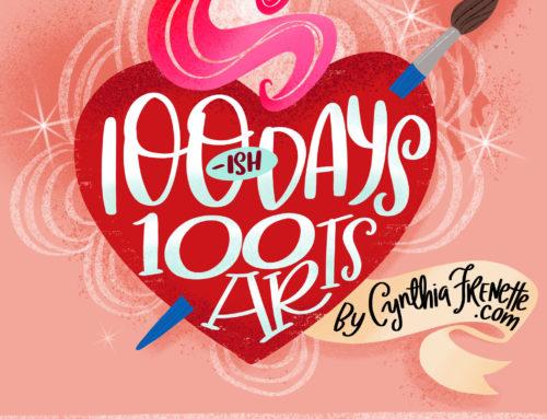 100ish Days, 100 Arts – Day 2, Piece #2!