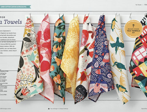 A Spoonflower catalogue feature!