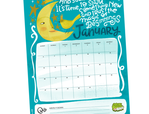 Happy almost New Year! Celebrate with a new calendar!