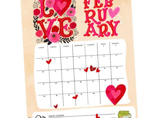 Sending you L-O-V-E this month