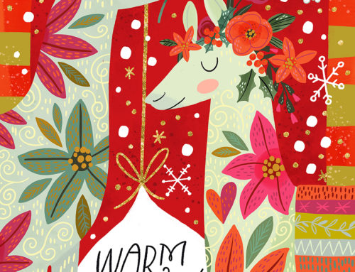 Warm Wishes Llamas