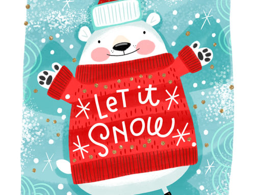 Let It Snow Bear