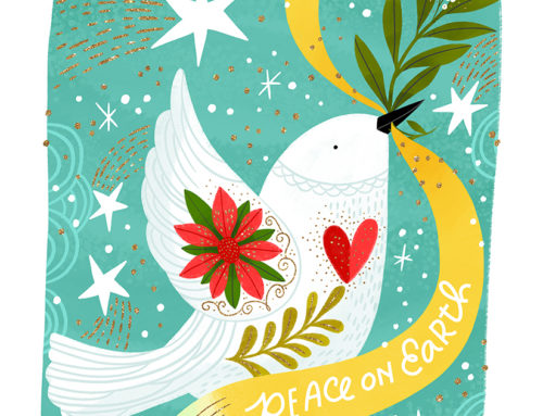 Peace on Earth Dove