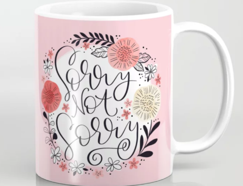 Caution! Swear words ahead: New stuff up in my Society 6 shop!