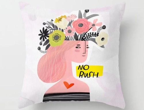 New art on Society 6: No Rush