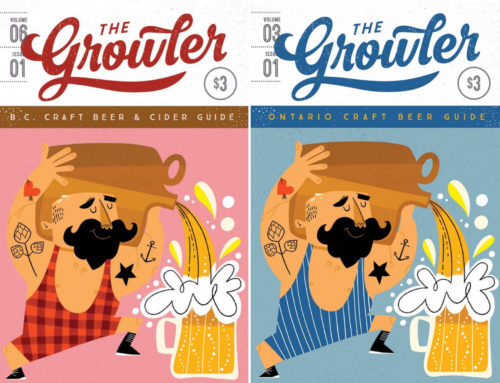 The Growler Magazine BC + Ontario, cover illustrations for 2020!