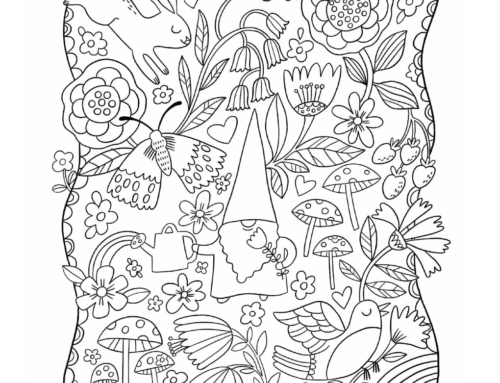 Spoonflower colouring book!
